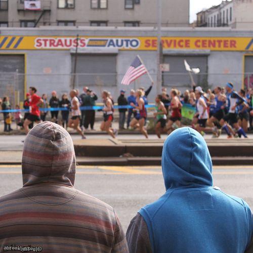 Runnin', ING NYC Marathon, 4th Avenue, Brooklyn ING NYC Marathon