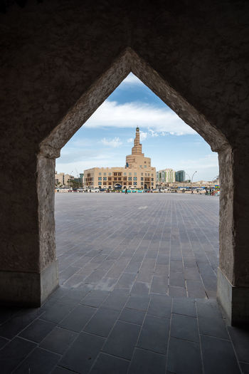 Qatar Islamic Cultural Center Built Structure Architecture Building Exterior Building History Day City Travel Destinations Sky Travel Doha Qatar Middle East Fanart Souq Waqif People Outdoor