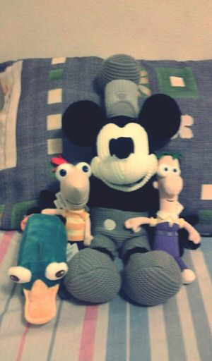Love them <3 Disney Mickey Phineas & Ferb Perry The Platypus