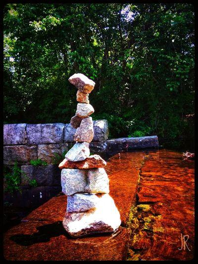 Colorful Trees Water Waterfall Rock - Object Rocks EyeEm Best Shots EyeEmNewHere EyeEm Nature Lover Eye4photography  EyeEm Gallery EyeEm Selects Rock Stacking Tree Art