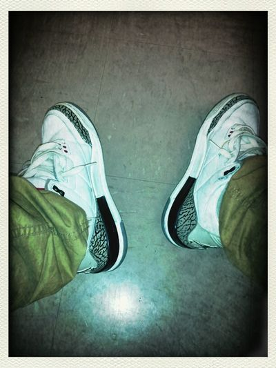 Sneakers White Cement 3s