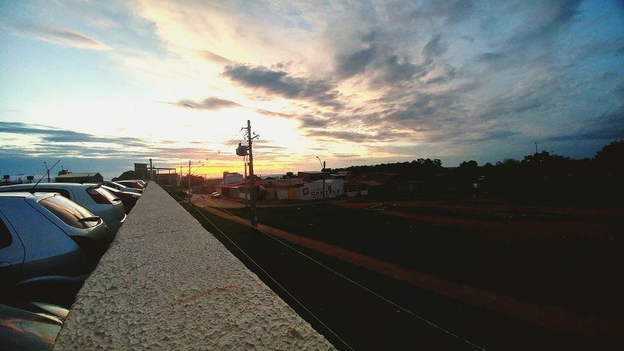 Samambaia DF Pordosol PorDoSol😍 Samambaia Lgg5photography Sunset City Sky Cloud - Sky