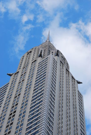 New York's Chrysler building Chrysler Building Architecture Building Building Exterior Buildings Built Structure City Landmark Low Angle View No People Office Building Exterior Sky Tower My Best Travel Photo
