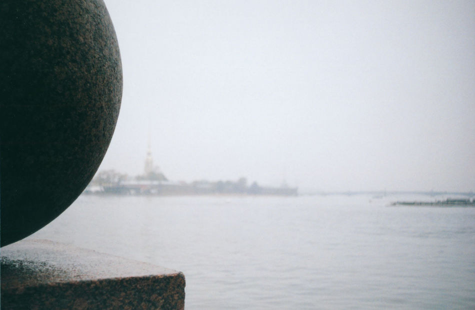Blurred Perrspective Clear Sky Close-up Day Film Photography Focus On Foreground Moody Nature Original ExperiencesOutdoors Rain Rany Day Rippled Roud Shape Saint Petersburg Scenics Semisphere Sky The Peter And Paul Fortress The Spit Of VasilyevskyIsland Tranquil Scene The Architect - 2016 EyeEm Awards Travel Destinations Water The Architect - 2017 EyeEm Awards
