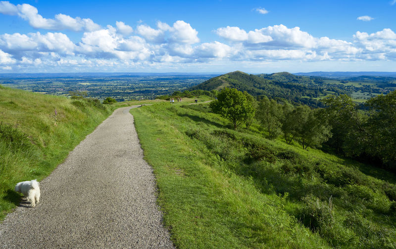 Views across the Malvern Hills, Worcestershire, UK Beauty In Nature Blue Sky Blue Sky And Clouds Britain Day Hills Landscape Landscape_photography Malvern Hills Nature Outdoors Scenics Sky Tranquility Uk Views Vista
