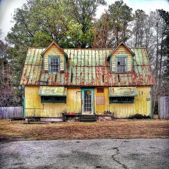 Love Shack... Lemon Lime By Motorola AMPt - Abandon Rural Scenes Abandoned South