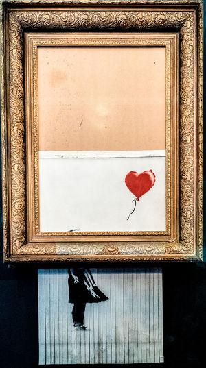 Banksy shredded