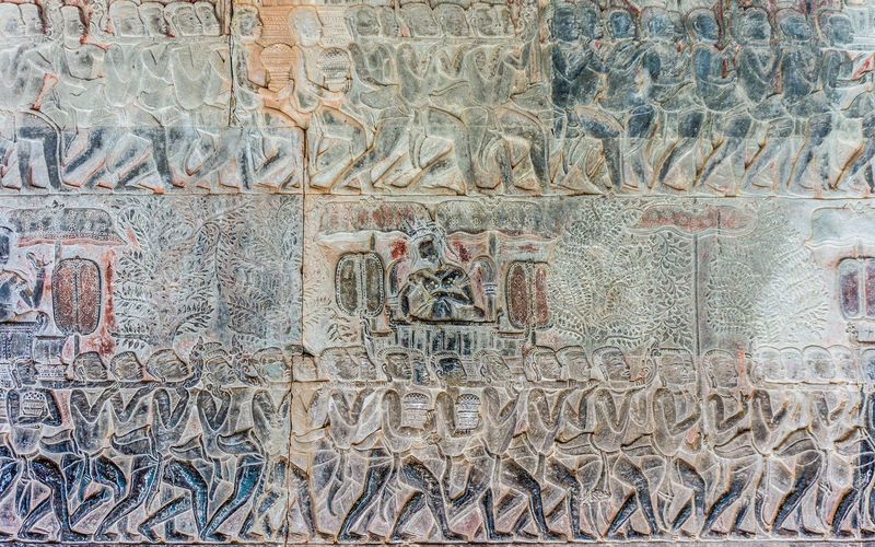 Angkor Wat Detail 1 Angkor Wat Angkor Wat, Cambodia Ancient Civilization Architecture Backgrounds Carving Close-up Day Full Frame History No People Outdoors Stone Carving Temple Detail