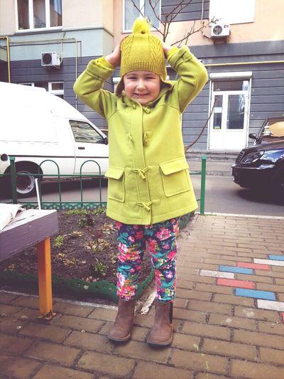 Daughter Baby Good Mood :)