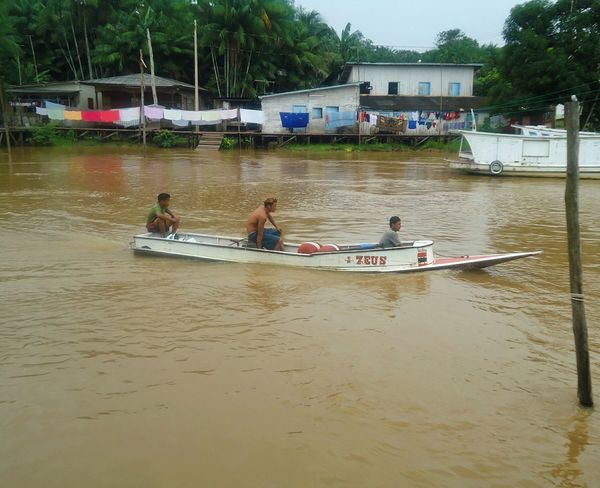 Macapá Macapá-Brazil Ribeirinhos River Boat