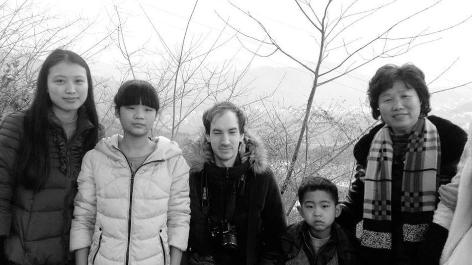 We Are Family Blackandwhite Chongqing RobertEkbergTallberg Asian Culture