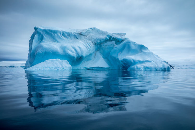 Antarctica Beauty In Nature Cold Temperature Day Floating On Water Frozen Glacier Ice Iceberg Iceberg - Ice Formation Lake Nature Outdoors Reflection Scenics Sky Snow Tranquil Scene Tranquility Water Waterfront Winter EyeEmNewHere