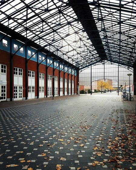 Indoors  No People Built Structure Architecture Denhaag To Go DenHaag Newoldbuilding Symmetry Geometry Autumn Samsungs7
