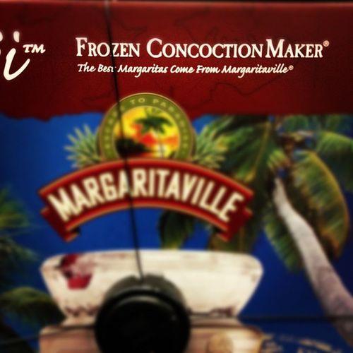 CAN'T EVEN DESCRIBE HOW MUCH I LOVE THE NAME... FROZEN CONCOCTION MAKER!! Frozendrinks Concoction Drinkmaker 400buckslater margaritaville fuckinloveit getmydrank mydadlovesittoo
