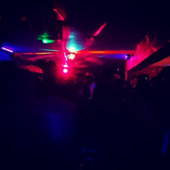 Thank thee lord we don't have work on Monday Boogie time cutting some Shapes at Cinnabar Stevenage BankHoliday Music Party Holiday Hertfordshire Lights XperiaZ3