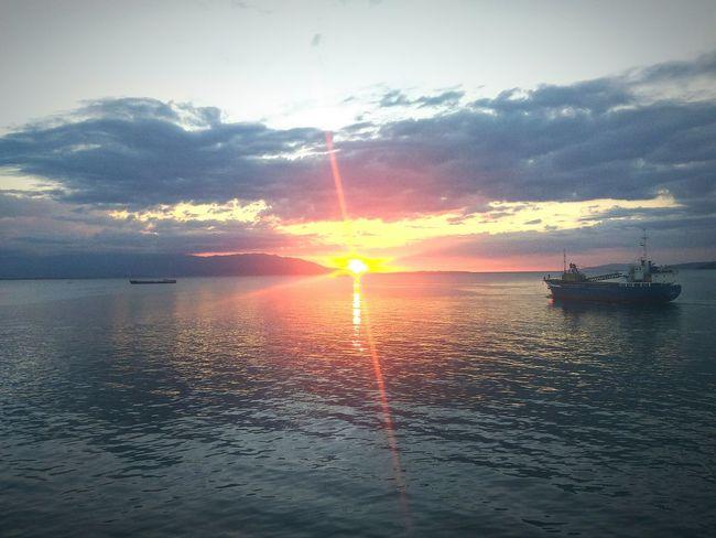 Sunset.🌅 Philippines Calapan Calapanport Calapancity Mindoro Sunset