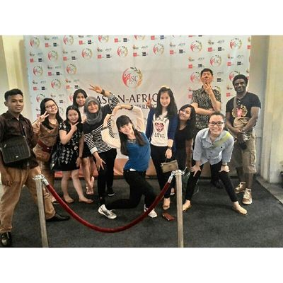 The nice thing about teamwork is that you always have others on your side. Teamwork STBA_PIA Bandung