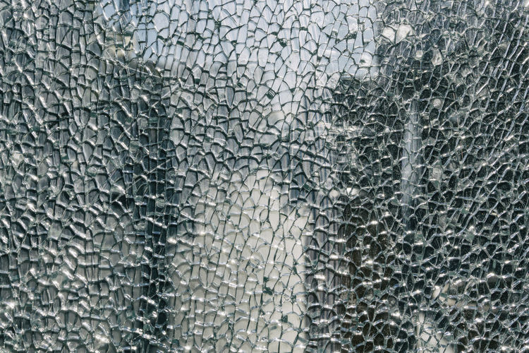 Close-Up of Broken Shatterproof Glass at Bus Station Berlin Germany 🇩🇪 Deutschland Color Image Horizontal Outdoors No People Backgrounds Pattern Textured  Glass - Material Full Frame Close-up Damaged Broken Cracked Shattered Glass Shatterproof Glass Abstract Transparent Architecture Abstract Backgrounds Textured Effect Gray Silver Colored Destruction