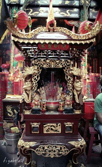 Hello World Taking Photo Traditional Culture Culture Prayer Buddhist Temple INDONESIA Capgomeh 2015, Singkawangcity