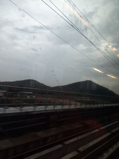 A View from Chennai Metro Train Photo by Ayubkhan.U