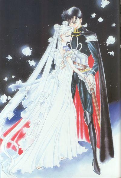 Manga Anime Reading Sailor Moon