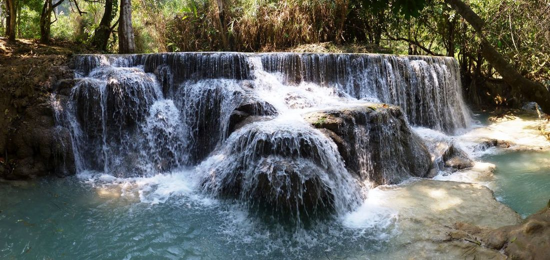 Waterfall from