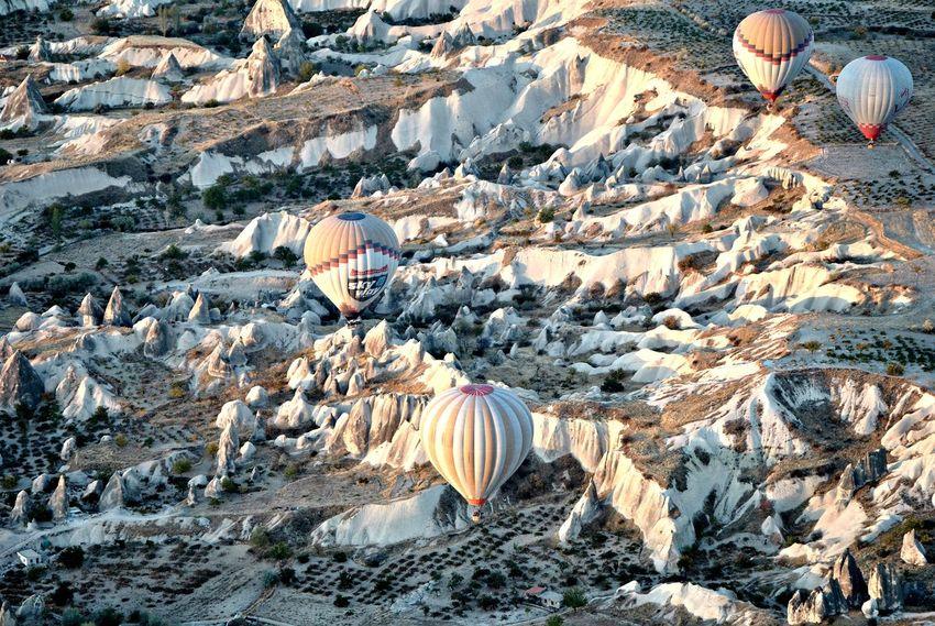 Kapadokya Capadoccia Balloons Hot Air Balloon Turkey Nature Trip Travelphotography Traveling Trip Photo