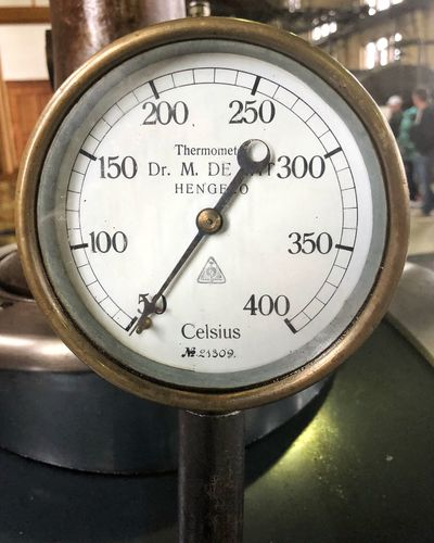 Celsius Hengelo Netherlands Gemaal Steam Steampunk Thermometer Number Gauge Close-up Instrument Of Measurement No People Geometric Shape Circle Meter - Instrument Of Measurement Western Script