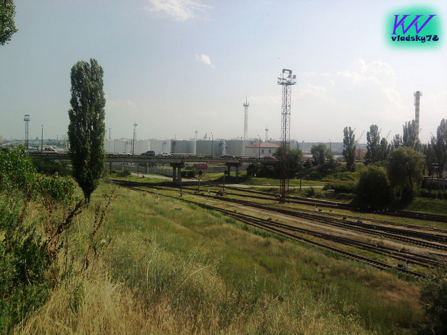 2011 July 2011 Day Electricity Pylon Grass July Nature No People Outdoors Rail Transportation Railroad Track Sky Transportation Tree