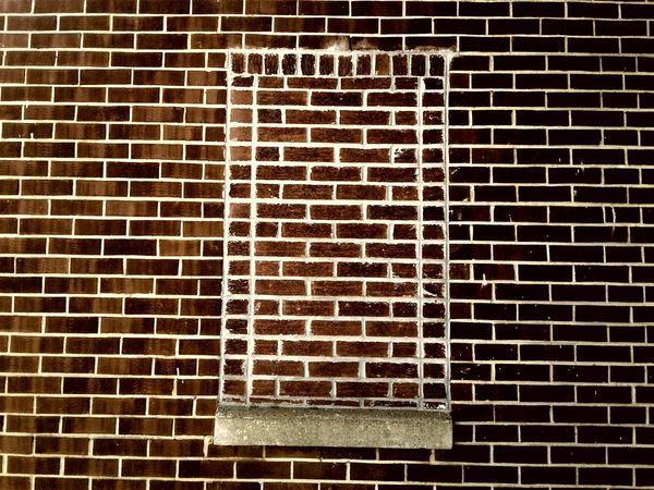 Brick Wall Pattern No People Outdoors Window Structures & Lines The Architect - 2017 EyeEm Awards BYOPaper!