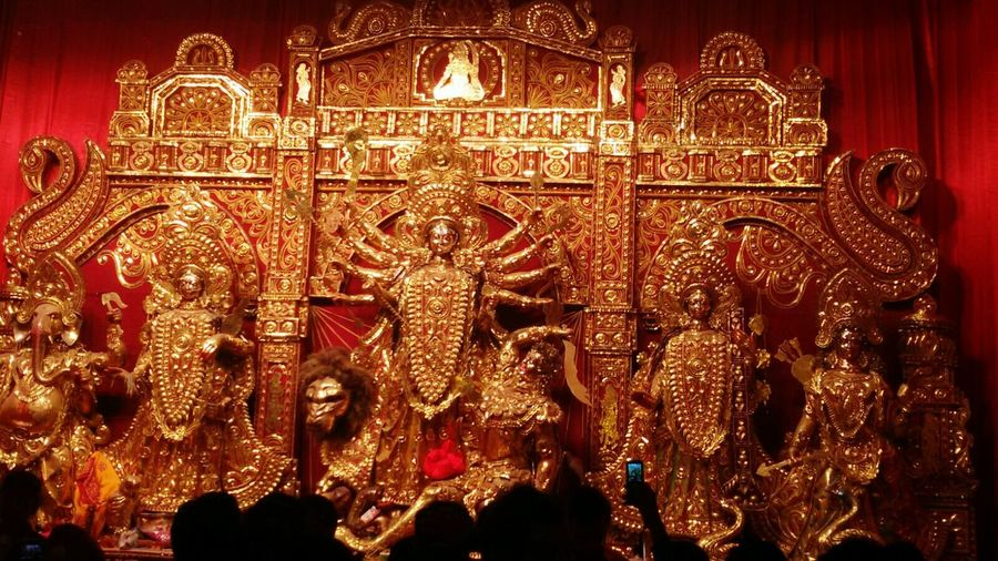 Durgamaa Vijayadashami Festivals Pandals Indianfestival IndianFestiveSeason Ranchi Indian From My Point Of View