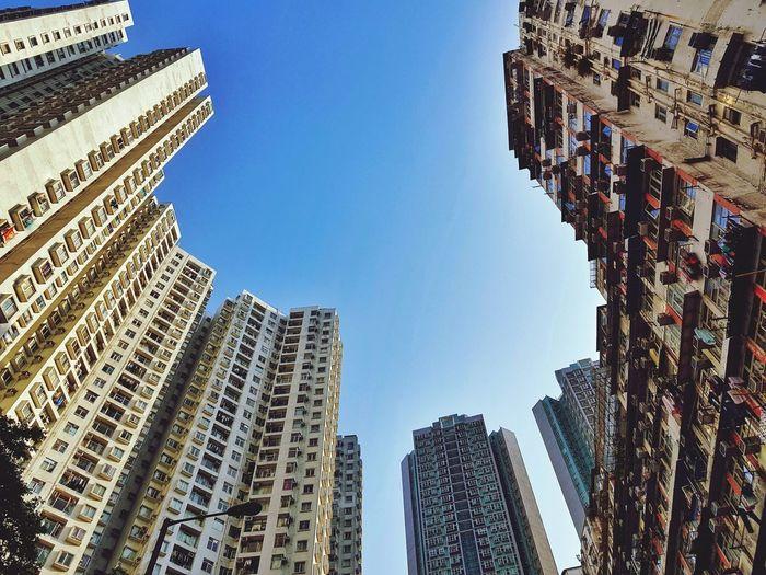 Skyscrapers in