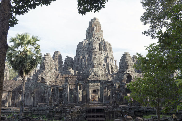 Angkor thom in Cambodia Amazing Angkor Angkor Thom Angkor Wat Architecture Art ASIA Building Cambodia Daylight Faces Of EyeEm Heritage Landmark Old Ranking Religion Stone UNESCO World Heritage Site World