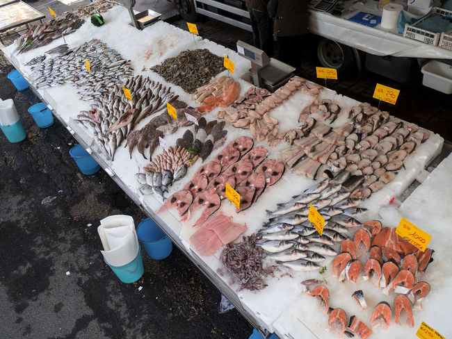A Lot Of Fish Buying Choice Fish Market Flea Market Food Food And Drink Food And Drink Fresh Fish Fresh Fish Market Freshness Friday Fish Lifestyles Market Market Stall No People Occupation Outdoor Market Outdoors Retail  Selling Selling Fish