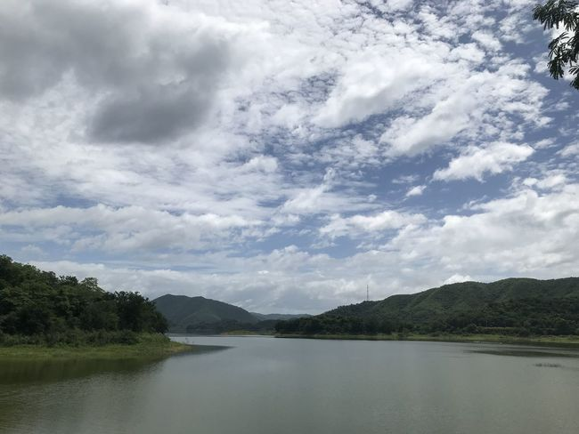 Beauty In Nature Cloud - Sky Day Environment Lake Mountain Nature No People Non-urban Scene Outdoors Plant Scenics - Nature Sky Tranquil Scene Tranquility Tree Water Waterfront