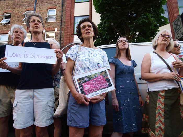 Vigil: No to Islamophobia-Unity with Finsbury Park Mosque. London. 20-06-17 Finsbury Park Finsbury Park Attack Finsbury Park Mosque Islamophobia London London News Olympus Photojournalism Steve Merrick Stevesevilempire Vigil No To Islamophobia Zuiko
