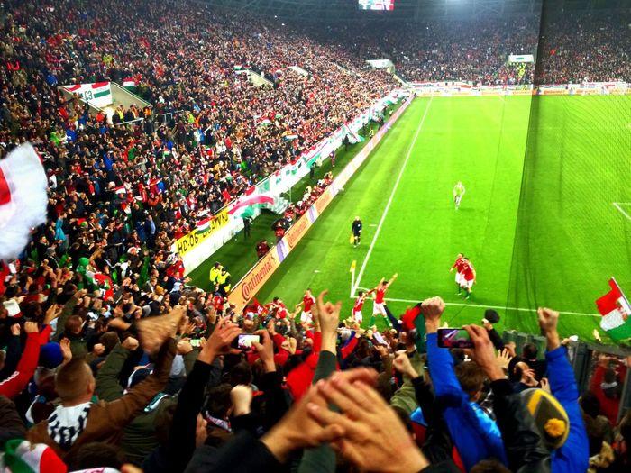 Hungary winning goal to France! Euro2016 Hungary Football First Eyeem Photo