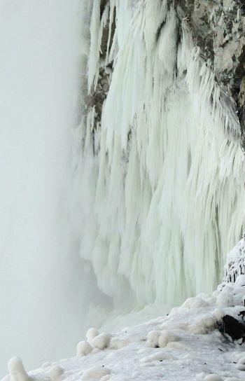 Niagara Falls Frozen Icedfalls Cold