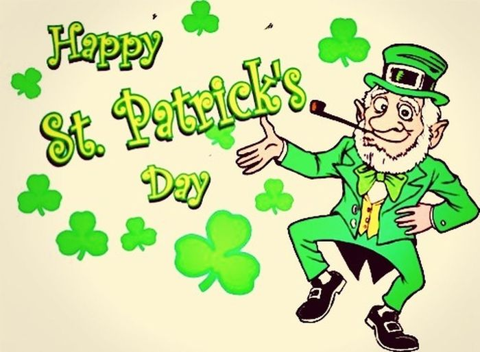 Happy St.Patrick Day Everybody St. Patrick Day Enjoying Life Hanging Out Having Fun