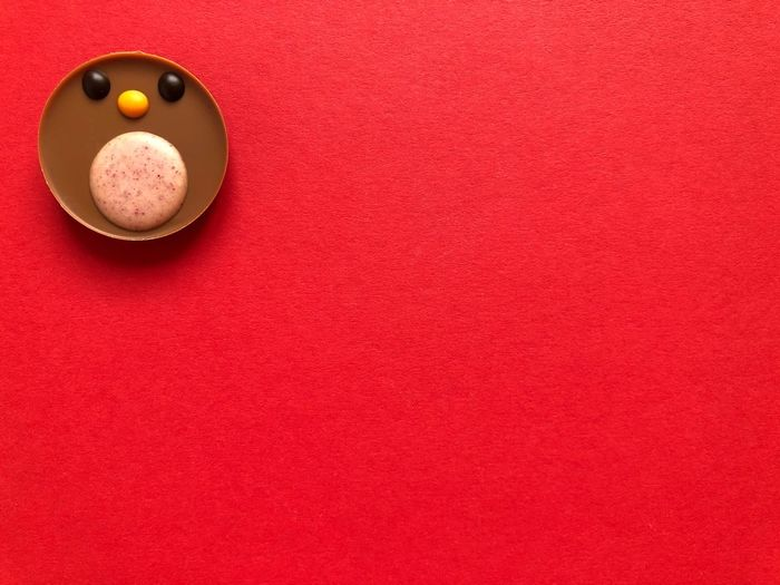 Directly above shot of balls on table