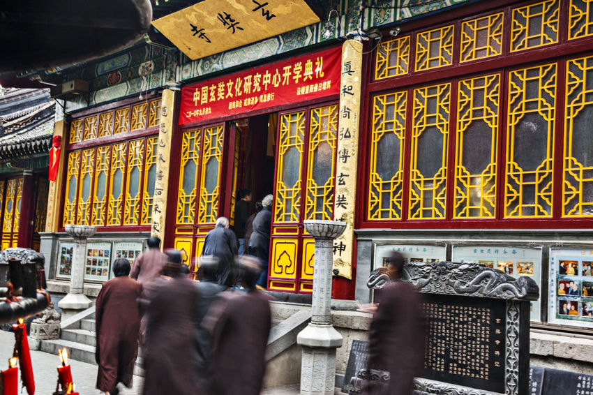 Hidden Gems-Nanjing Hsuan Tsang Temple Architecture Architecture Culture Famous History History Hsuan Tsang Temple Journey To The West Nanjing Nanjing JjiuHuaShan Place Of Worship Tang Dynasty Tourist Attractions Tourist Destination Xuanzang Characters Hidden Gems  Nanjing Temple Temples Tourism