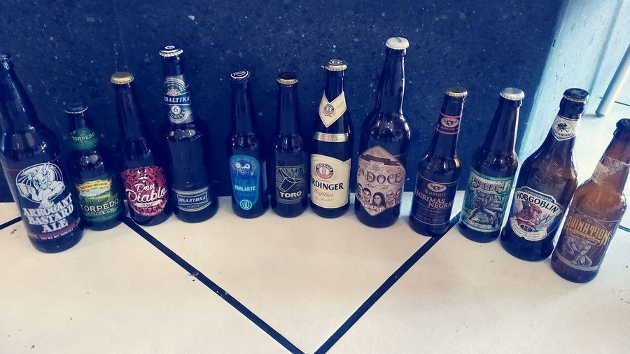 Bottle Large Group Of Objects Beer Time