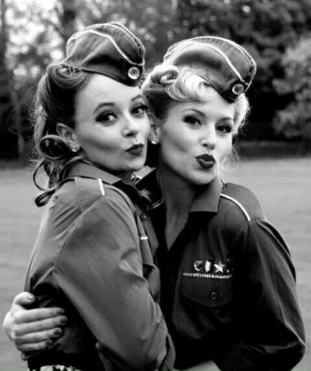 Hot World War 2 Girls super hot!