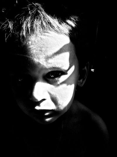 Monochrome Black And White Children's Portraits