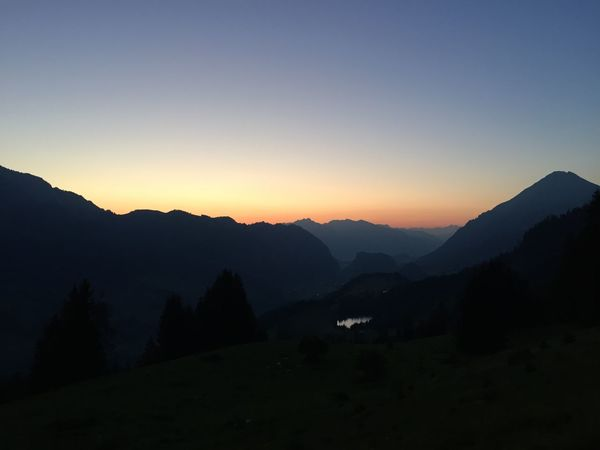 Sky Mountain Beauty In Nature Scenics - Nature Tranquility Tranquil Scene Sunset