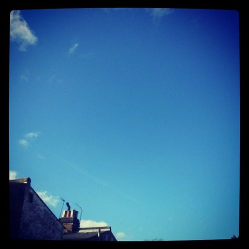 Blueskies Londonroofs Sunday