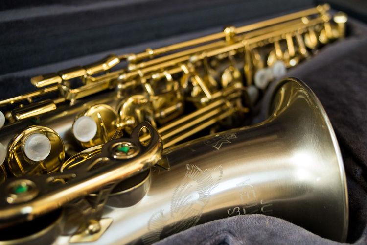 Brass Instrument  Saxofone🎷 Brass Glittering Musical Instrument