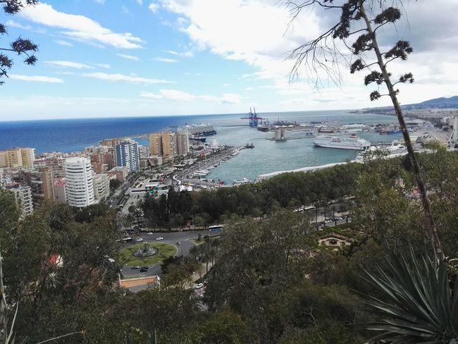Málaga City A Bird's Eye View Movilgrafias Malaga CostadelSol HuaweiP8