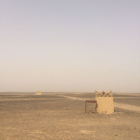 Arab Arabic Architecture Arid Climate Clear Sky Day Desert Field Hot Infinity Landscape Moroco Mud Nature No People Outdoors Sand Sky Structure Tranquility Travel