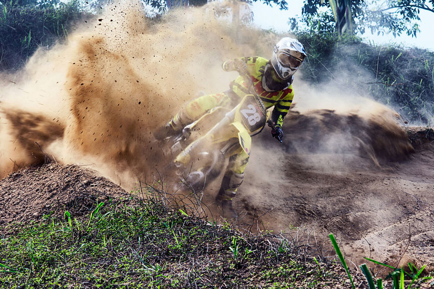 motocross rider Real People Men Day Outdoors Water Only Men Adult Tree Adults Only One Person Nature People Close-up Sky Motion Sport Sports Photography Motocross Motocross Race Extream